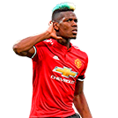 headshot of  Paul Pogba