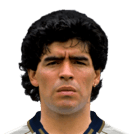 headshot of  Diego Maradona