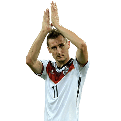headshot of  Miroslav Klose
