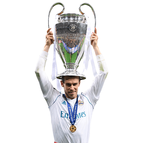 headshot of  Gareth Bale