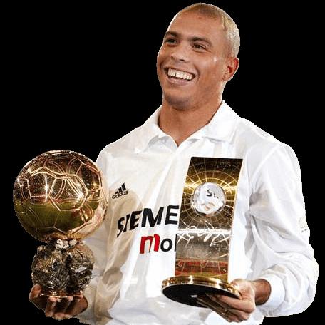 headshot of Ronaldo Luís Nazário de Lima