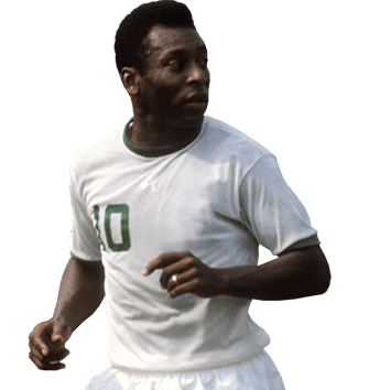 headshot of Pelé Edson Arantes Nascimento