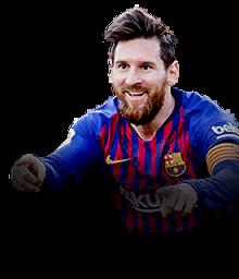 headshot of  Lionel Messi