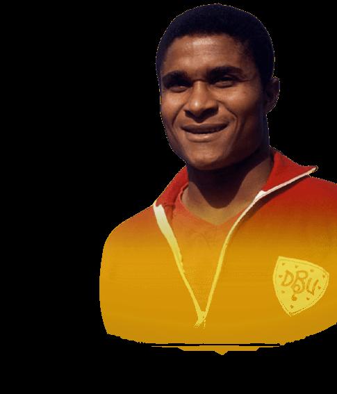 headshot of Eusébio da Silva Ferreira