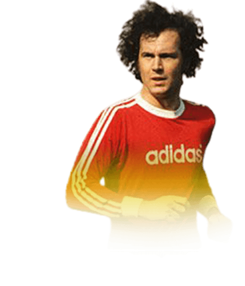 headshot of  Franz Beckenbauer